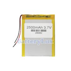 Аккумулятор 3.7 вольт 2500 mAh 2 провода