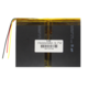 Аккумулятор 3.7 вольт 7600 mAh LG 3 провода